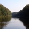Kanal durch den Wald