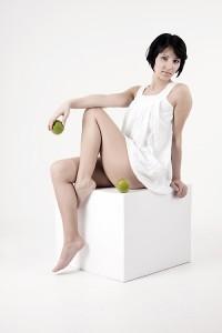 Alice: grüner Apfel