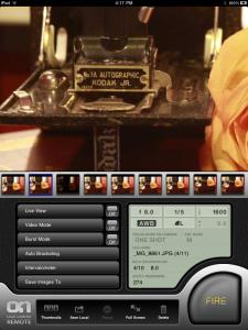 Screenshot Ipad-App