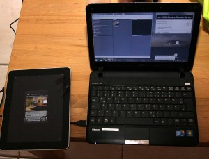 Ipad und Laptop für DSLR Remote Control