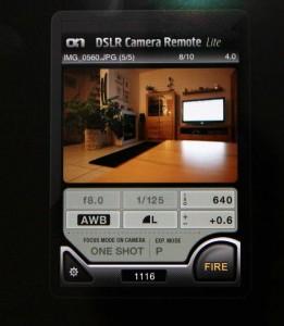 Ipad-App DSLR Remote Control