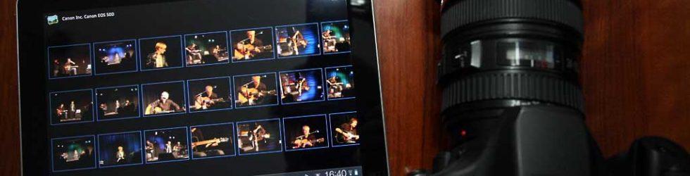 Gelungener Anschluß: EOS 50D an Galaxy Tab 10.1