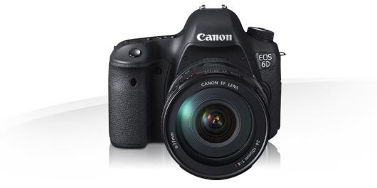 Sie ist da - Canon EOS 6D 1
