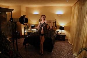 Manuela Boudoir-Shooting Making-off