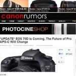 Neue Gerüchte um EOS 70D und 7D MKII 1