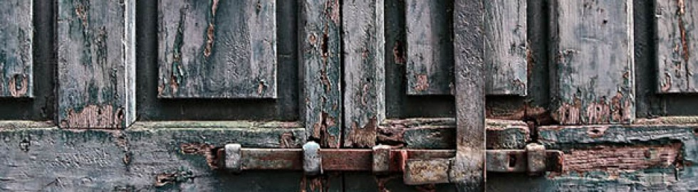 closed-door