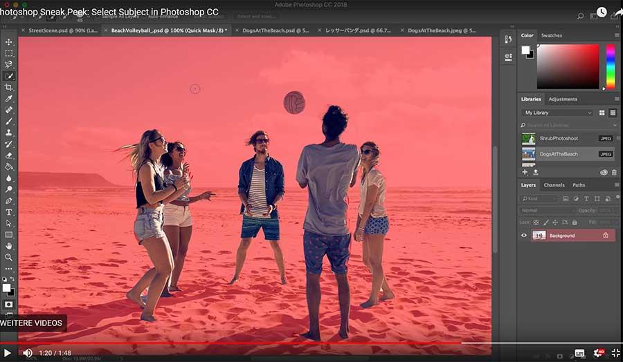 Photoshop: Mit KI besser freistellen