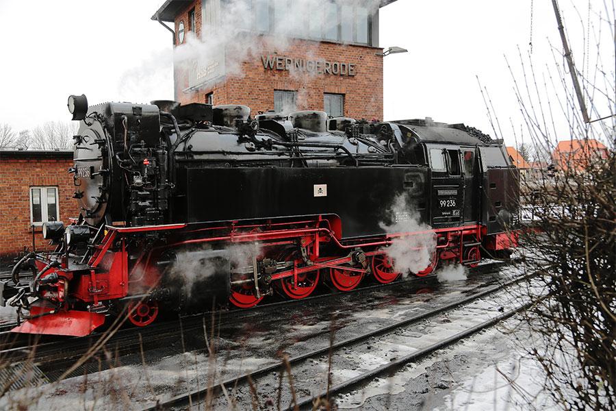 Dampfloks im Harz