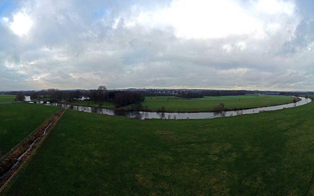 Panorama Ruhr bei Schwerte