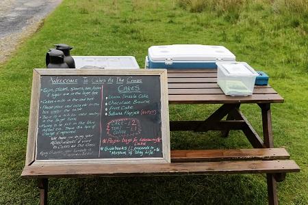Reisetagebuch Schottland: Der gedeckte Tisch 1