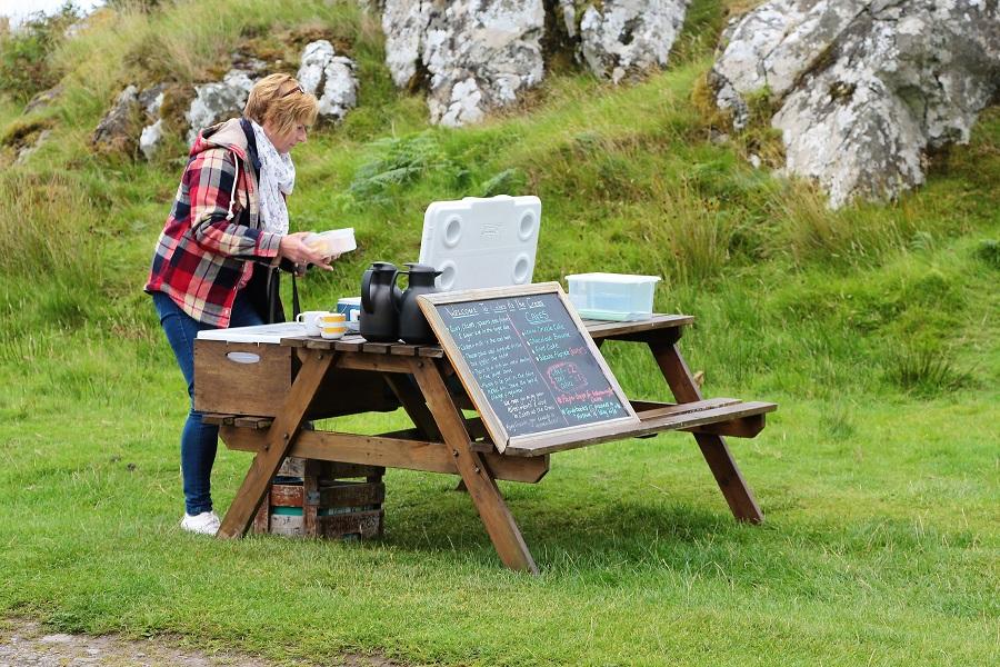 Reisetagebuch Schottland: Der gedeckte Tisch