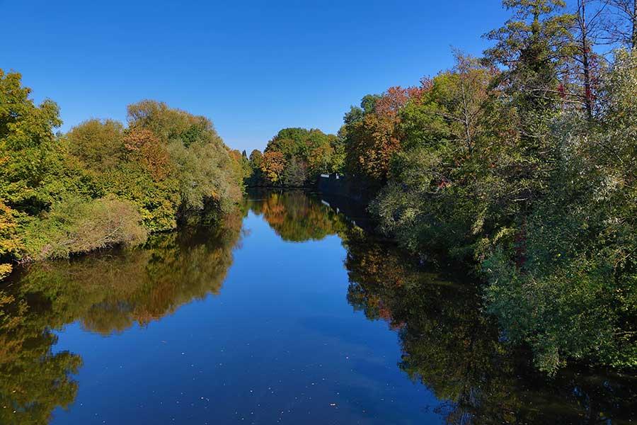 Goldener Oktober im Saarland und Lothringen