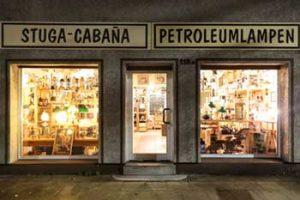 Stuga-cabana, Petroleumlampen