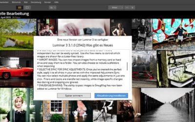 Fotobearbeitung Luminar 3 bekommt Update