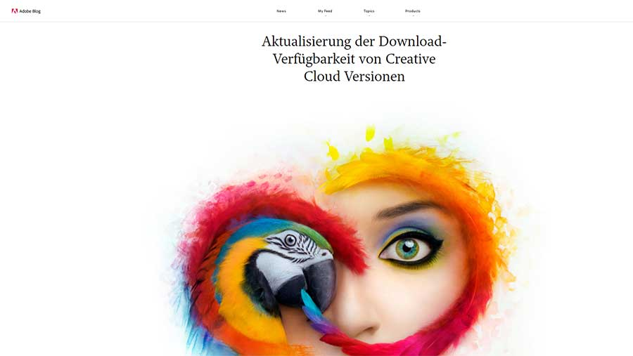 Creative Cloud Lizenzänderung