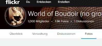 World of Boudoir - 1000 Mitglieder 1