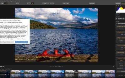 Neues Update für Fotobearbeitung Luminar 3