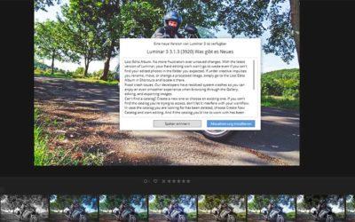 Luminar 3 – schon wieder ein Update für die Fotobearbeitungssoftware