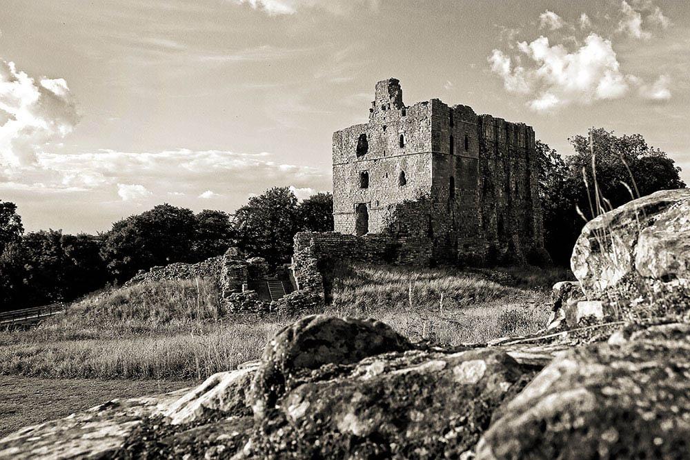 Norham Castle by Lothar Stobbe